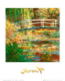 El estanque de los nenúfares Pósters por Claude Monet