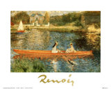 The Seine at Asnieres Prints by Pierre-Auguste Renoir