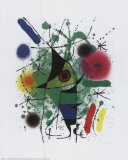 Singing Fish Posters av Joan Miró