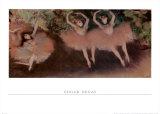 Ballett Um, 1879 Poster by Edgar Degas