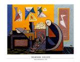 Melancholie, 1948 Plakater av Werner Gilles