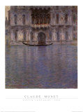 Palais Contarini, 1908 Prints by Claude Monet