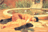 Dolce Far Niente Arte por John William Godward