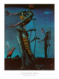 Jirafa ardiendo, ca. 1937 Láminas por Salvador Dalí