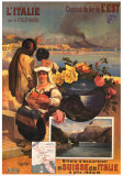 L'Italie Poster by Hugo D'Alesi