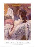 El reposo de la modelo Láminas por Henri de Toulouse-Lautrec