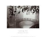 Cambridge im Nebel Kunstdrucke von Derek Langley
