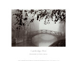 Cambridge Mist Prints by Derek Langley