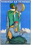Visitez la Tunisie Plakater af Jacques de la Neziere