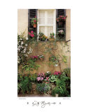 Valbonne Window Print by Dennis Barloga