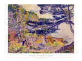 Cap Layet Arte por Henri Edmond Cross