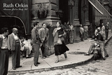 Amerikaanse jonge vrouw in Italië, 1951 Kunst van Ruth Orkin
