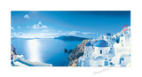 Mediterranean Vista Prints by George Meis