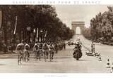 1975 Tour Finish on the Champs Elysees Posters