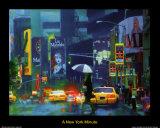 New York Minute Posters by Richard M. Swiatlowski