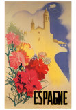 Espagne Print by Movell 