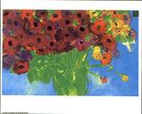 Blumenreichtum Kunstdrucke von Walasse Ting