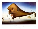 Sommeil Affiches par Salvador Dalí