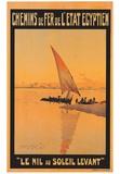 Le Nil Au Soleil Levant Posters by M. Tamplough