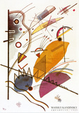 Aquarelle, 1923 Art by Wassily Kandinsky
