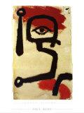 Paukenspieler, 1940 Plakater af Paul Klee