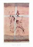 Seiltanzer Print by Paul Klee