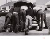 Boys with Their First Car, 1957 Posters par A. Y. Owen