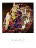 La virgen, 1913 Arte por Gustav Klimt