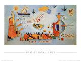 Proceso tenue, 1928 Lámina por Wassily Kandinsky