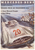 Mercedes Benz Plakater af H. Liskars