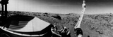 NASA's Viking 1 Beamed Back the First Panoramic View of the Rocky Surface on Mars Photographic Print by  NASA