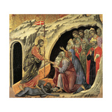Maestà - Passion: Descent To Hell, 1308-1311 Giclee Print by Duccio Di buoninsegna