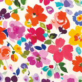Bright Florals I Prints by Wild Apple Portfolio