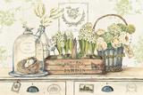 Dan mon Jardin Prints by Stefania Ferri
