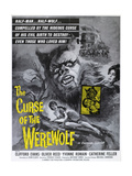 "The Wolfman, 1961, ""The Curse of the Werewolf"" Directed by Terence Fisher Giclee Print"