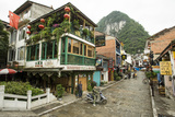 A View of West Street in Yangshuo, China Photographic Print by Jonathan Kingston