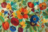 Summer Floral V Poster af Silvia Vassileva