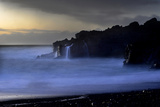 The Atlantic Ocean and Cliffs at Selatangar at Sunset Photographic Print by Raul Touzon