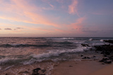 Sunrise on the Beach at Poipu Beach Photographic Print by Marc Moritsch