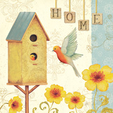 Welcome Home I Prints by Daphne Brissonnet
