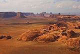 Scenic Desert Landscape at Hunt's Mesa Photographic Print by Derek Von Briesen