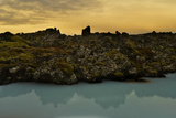 Dawn at the Blue Lagoon After a Storm Photographic Print by Raul Touzon