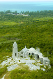 Mt. Alvernia Hermitage and Father Jerome's Tomb Atop Como Hill Reproduction photographique par Jad Davenport