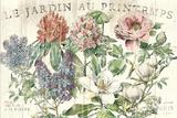 Le Jardin Printemps Posters af Sue Schlabach