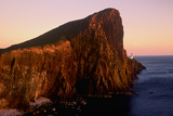 Sunlight Reflects on Neist Point Light on Cliffs Above the Atlantic Photographic Print by Jim Richardson