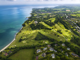 Aerial View of Royal Belfast Golf Club, Northern Ireland Photographic Print by Chris Hill