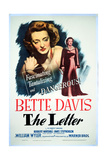 """The Letter"" 1940, Directed by William Wyler Giclee Print"