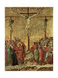 Maestà - Passion: Crucifixion', 1308-1311 Giclee Print by Duccio Di buoninsegna