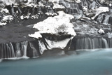 Barnafoss, a Waterfall on the Hvita River Photographic Print by Raul Touzon