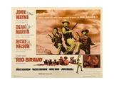 "Howard Hawks' Rio Bravo, 1959, ""Rio Bravo"" Directed by Howard Hawks Impression giclée"